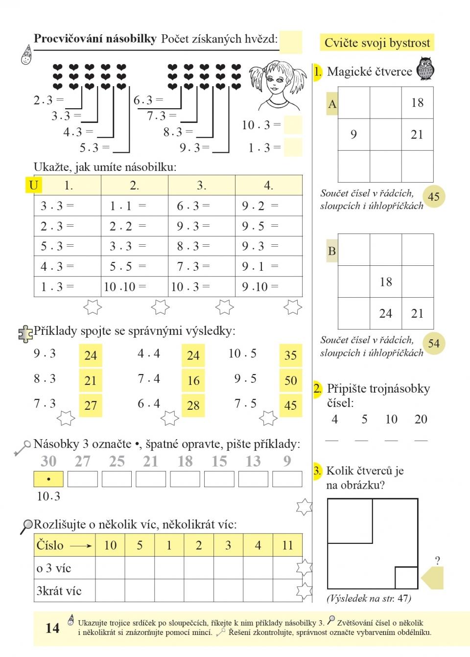 Bystre Pocitani 1 Dil Pracovni Sesit K Ucebnici Matematika 3