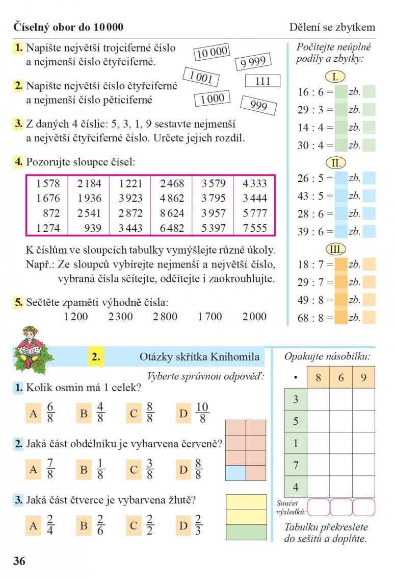 Matematika 4 1 Dil Ucebnice Cteni S Porozumenim Nova Skola Duha