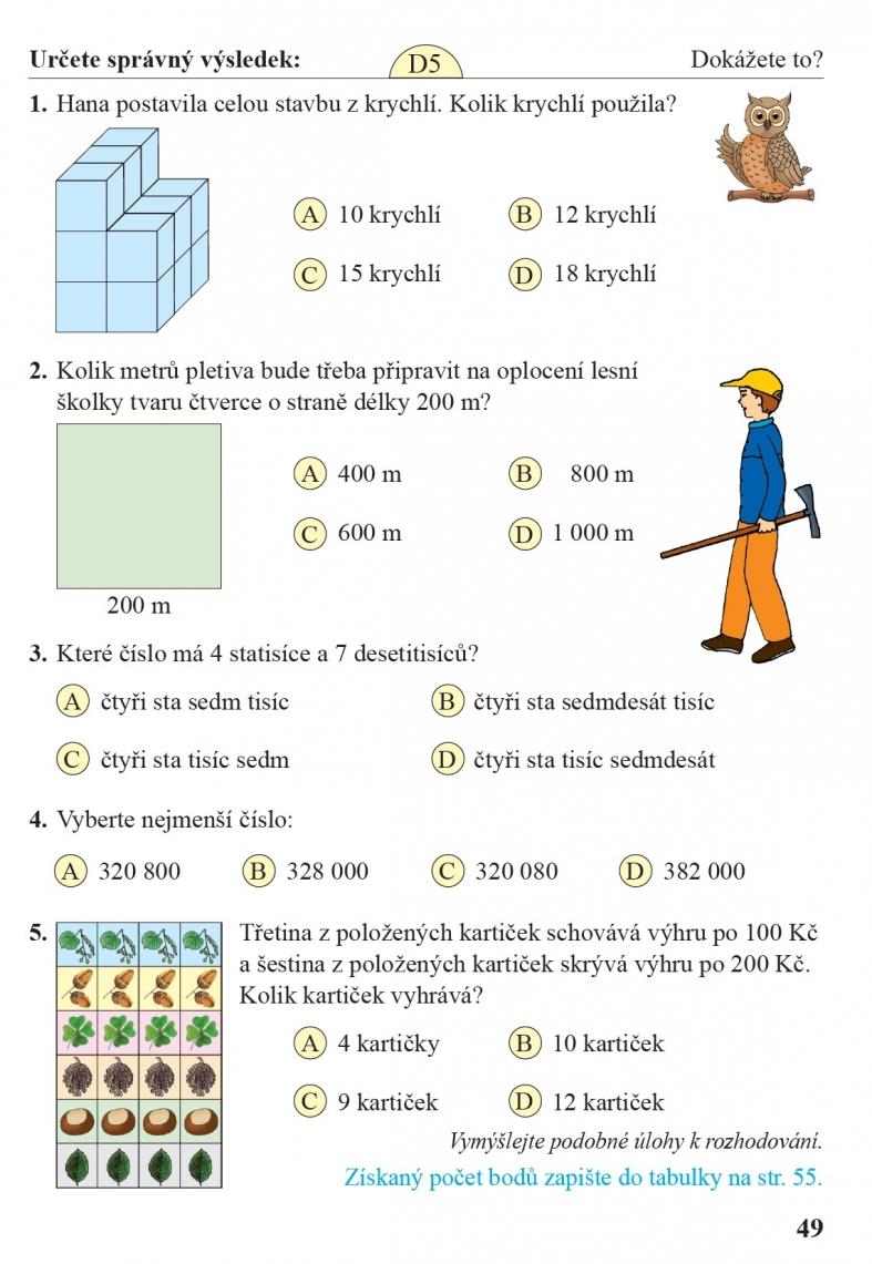 Matematika 4 2 Dil Ucebnice Cteni S Porozumenim Nova Skola Duha
