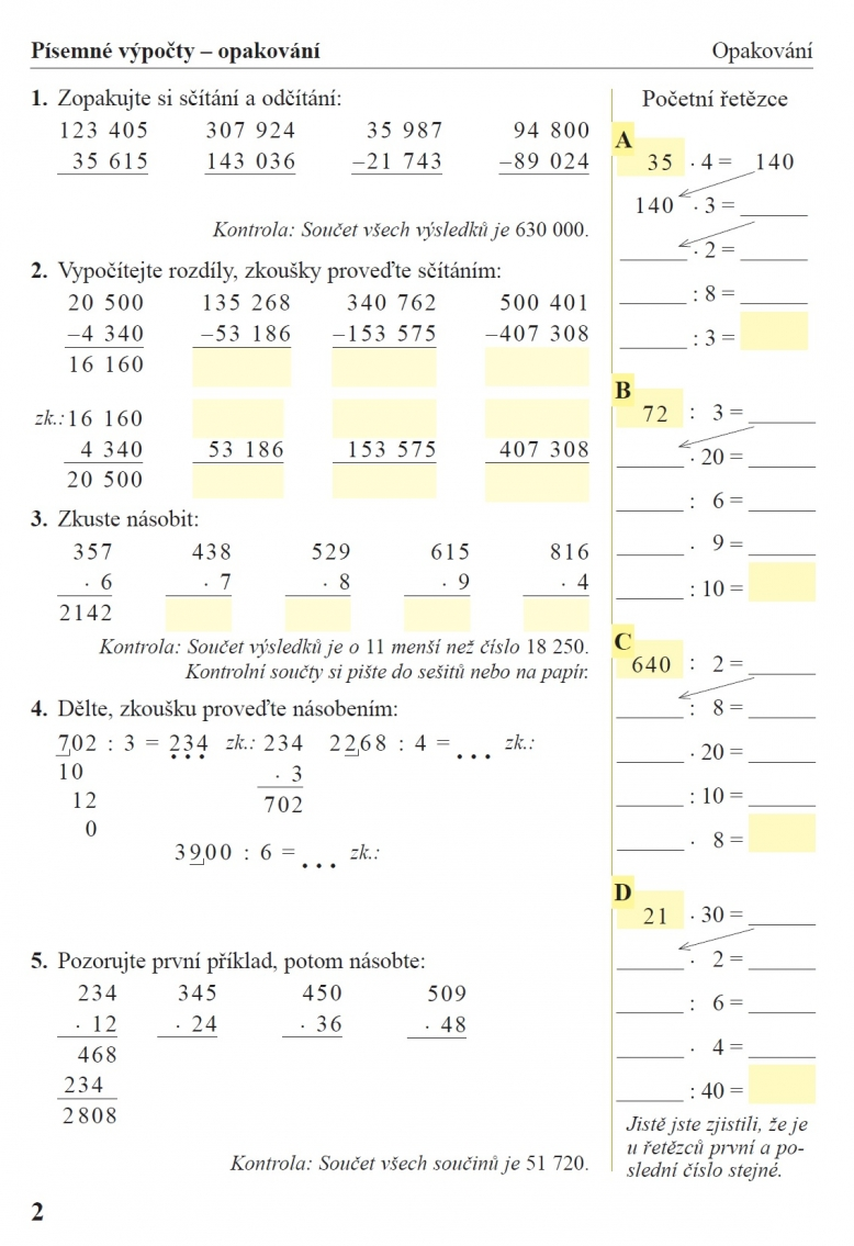 Uzitecne Pocitani 1 Dil Pracovni Sesit K Ucebnici Matematika 5