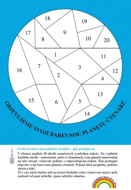 Vlozena Karta Cesta Na Barevnou Planetu Ctenaru Citanka 5 Nova