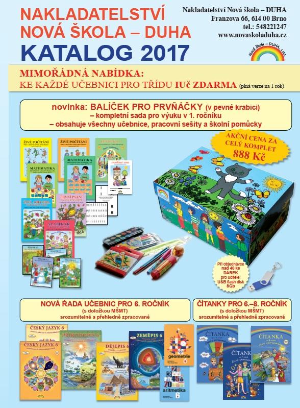 Katalog Nová škola - DUHA 2017