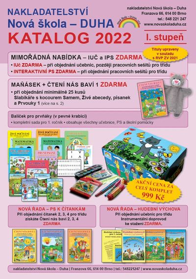 Katalog Nová škola - DUHA 2020 pro 1. stupeň